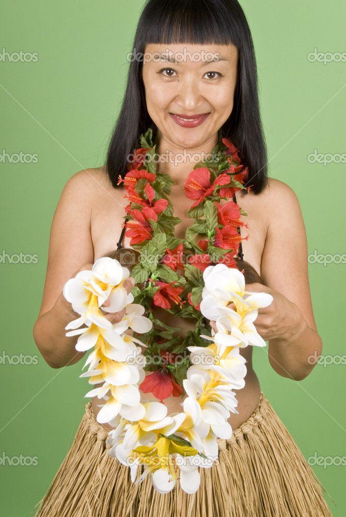 depositphotos_12418572-Hula-Girl-Offering-a-Lei.jpg (685×1023)