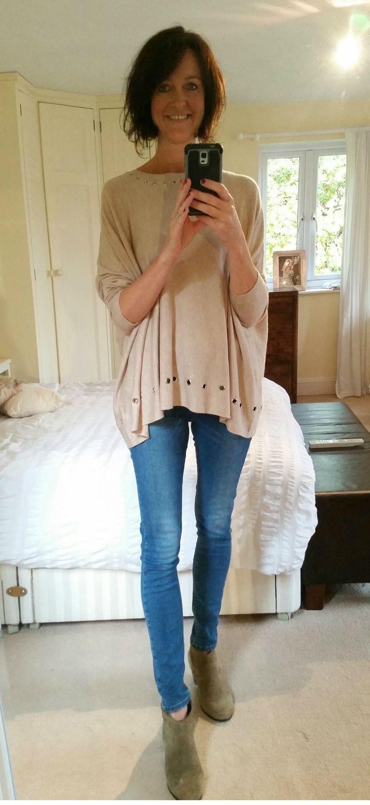 Oversized cream jumper. Buy here in many colours: http://bit.ly/20tm5pT
