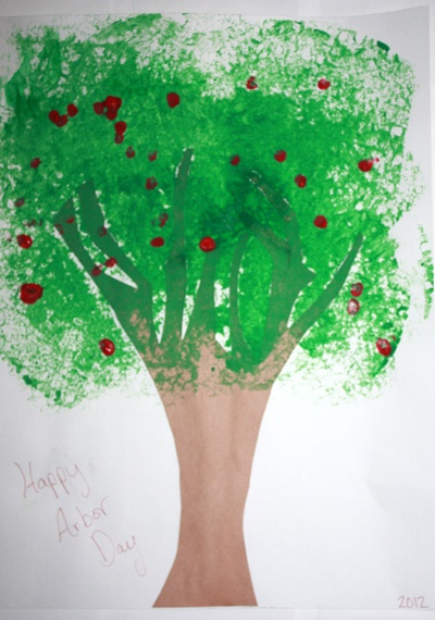49 Best Arbor Day Images On Pinterest Tree Crafts