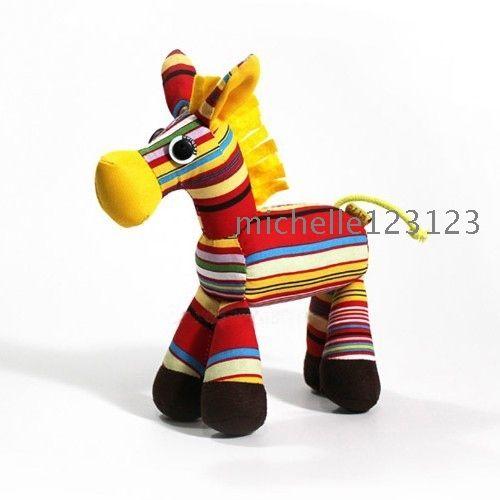 satın almak Yeni Bebek Lovely Eşek El yapımı Muppet Oyuncak Figurine Kumaş Sanat Ev Ofis Mobilya Araba Çanta Küçük Dekorasyon Asma ShopMadeInChina üzerinde madeinchina toptancı