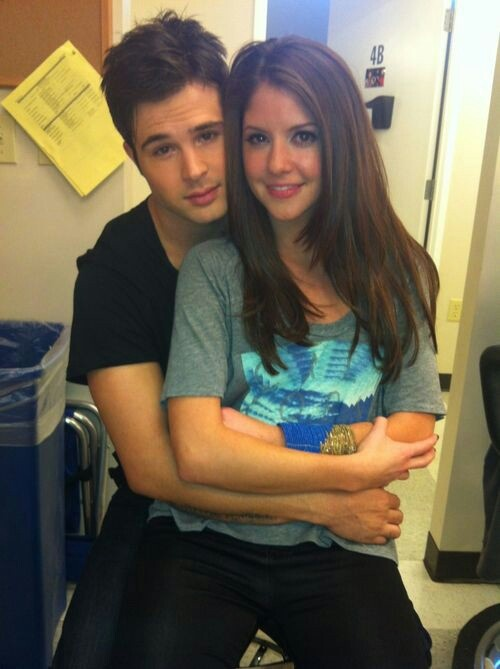 Cody Longo and Brittany Underwood  http://www.change.org/petitions/nick-nite-continue-hollywood-heights-for-a-second-season