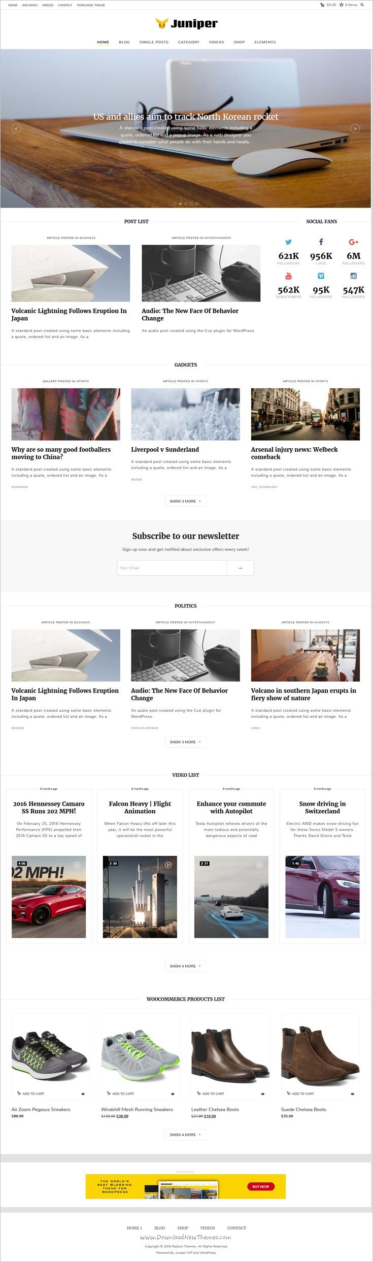 Juniper is a light #minimalistic, a feature packed 8 in 1 #WordPress theme, perfect for personal modern #blogs, lifestyle magazine & content production websites download now➩ https://themeforest.net/item/juniper-personal-wordpress-blog-theme/17961787?ref=Datasata