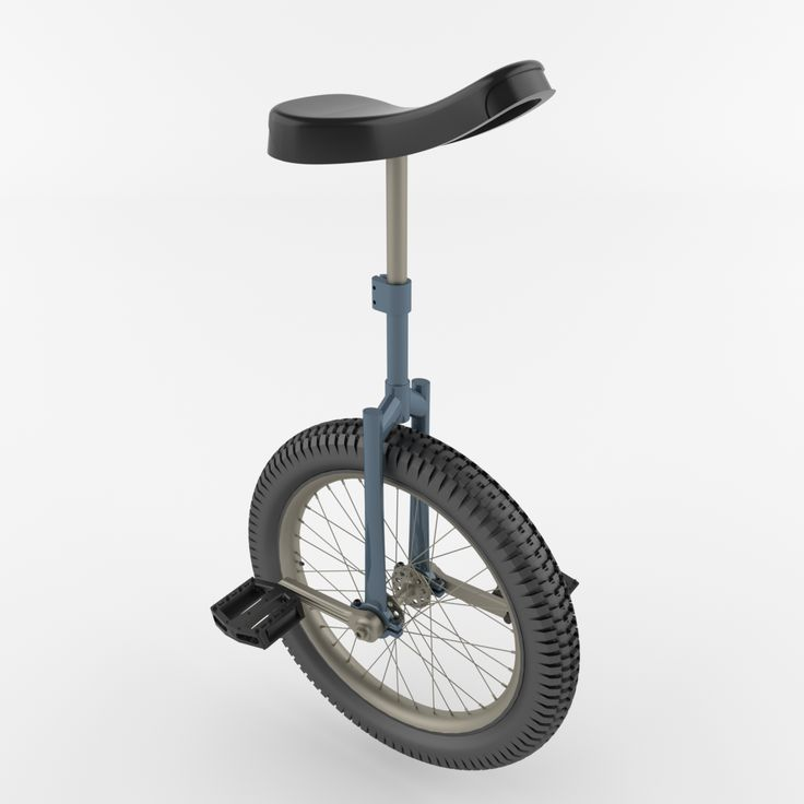 Unicycle is a high quality 3D model to add more details and realism to your rendering projects.
