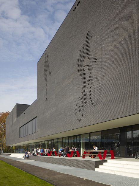137 best images about sports centres on pinterest arm for Eindhoven design school