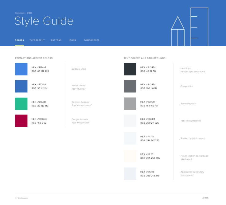 Style Guide – SiteUp