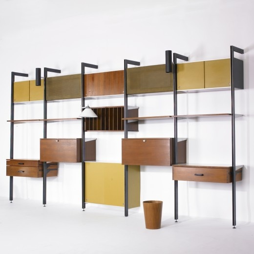 Comprehensive Storage System (CSS) by GEORGE NELSON & ASSOCIATES, c. 1959