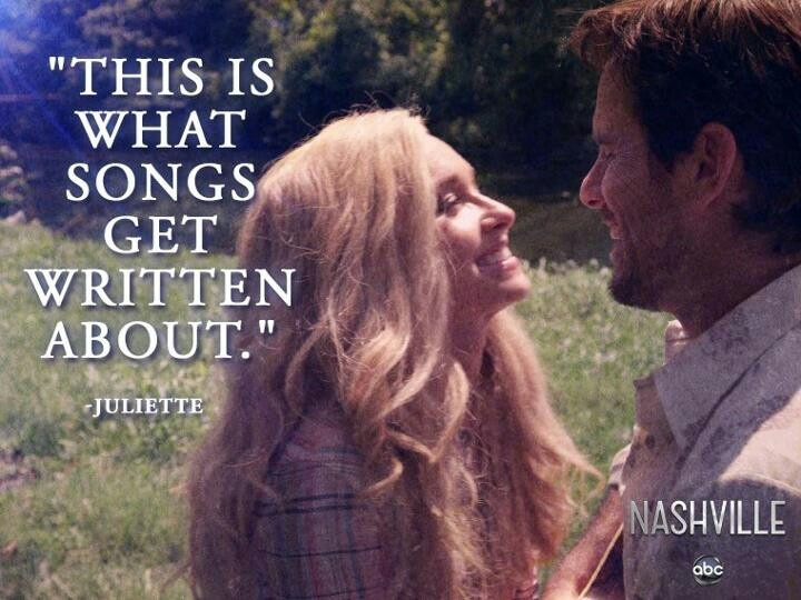 What songs are written about - Nashville ABC TV show