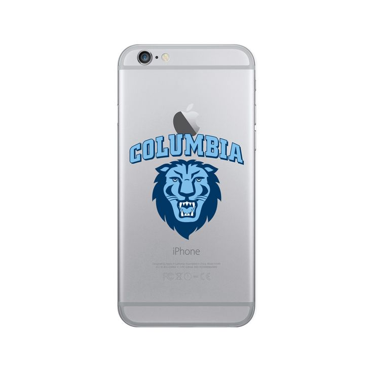 Columbia University Clear Phone Case, Classic V1 - iPhone 7/7S