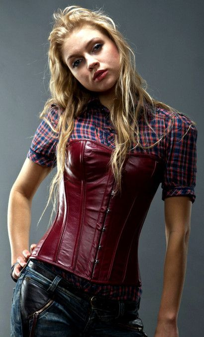 07ce908112 maroon leather corset