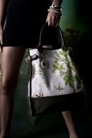 Big bag w flower print