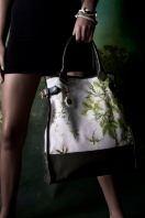 Big bag w flower print