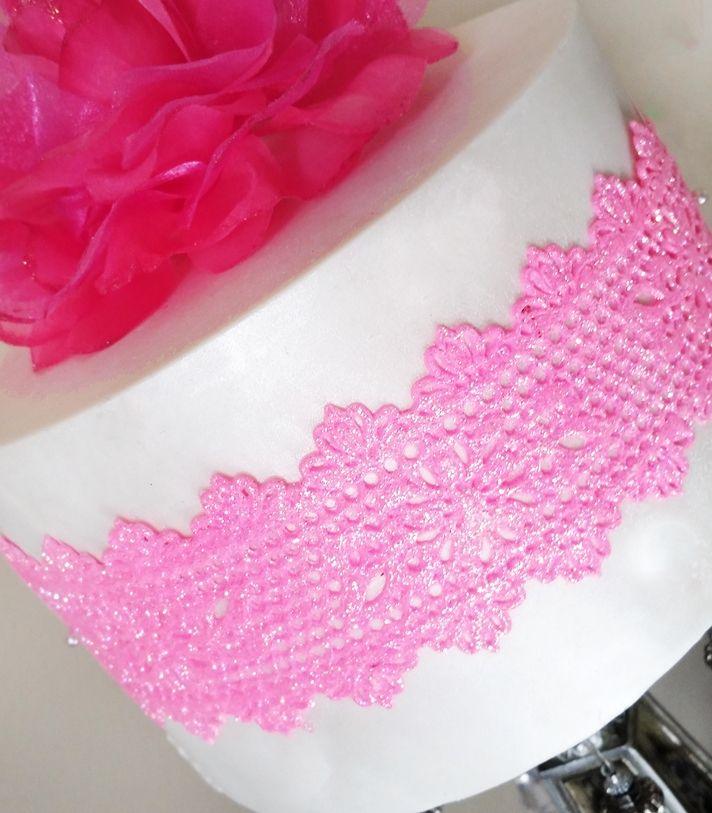 New STARTER Collection: Sienna Lace Mat - SC 004. http://www.crystalcandyonline.com