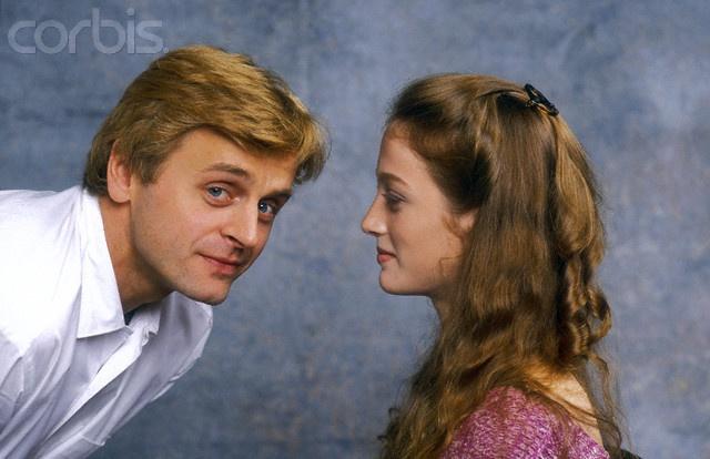 Mikhail Baryshnikov and 18-year-old Julie Kent in Dancers (1987). Photo taken on Oct 9, 1986 by Julio Donoso/Sygma/Corbis.