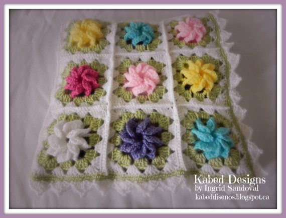 Baby Blanket garden of roses by KabedDesigns on Etsy, $85.00