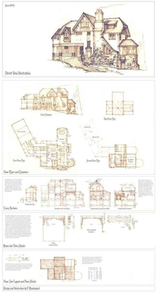 House 337 Full Plans by ~Built4ever on deviantART