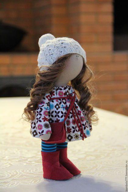 Купить Интерьерная кукла - фуксия, кукла ручной работы, кукла, кукла в подарок…