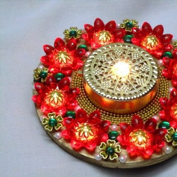Light Up Your Home With Fabulous Decoration Items For Diwali Diwali Pinterest Light With Br And Decoration
