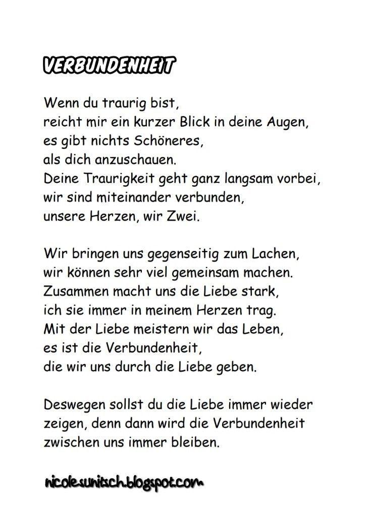 Pin Von Gedichte Nicole Sunitsch Auf Gedichte Sprüche Zitate