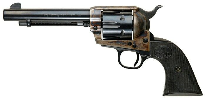 """Colt Single Action Army w/ 5.5"""" barrel known as the """"Artillery"""" model  - .45 Long Colt - Revolver"""