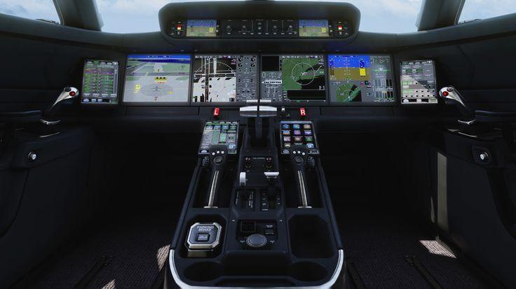 New Gulfstream jets' flight deck looks like a sci-fi ...