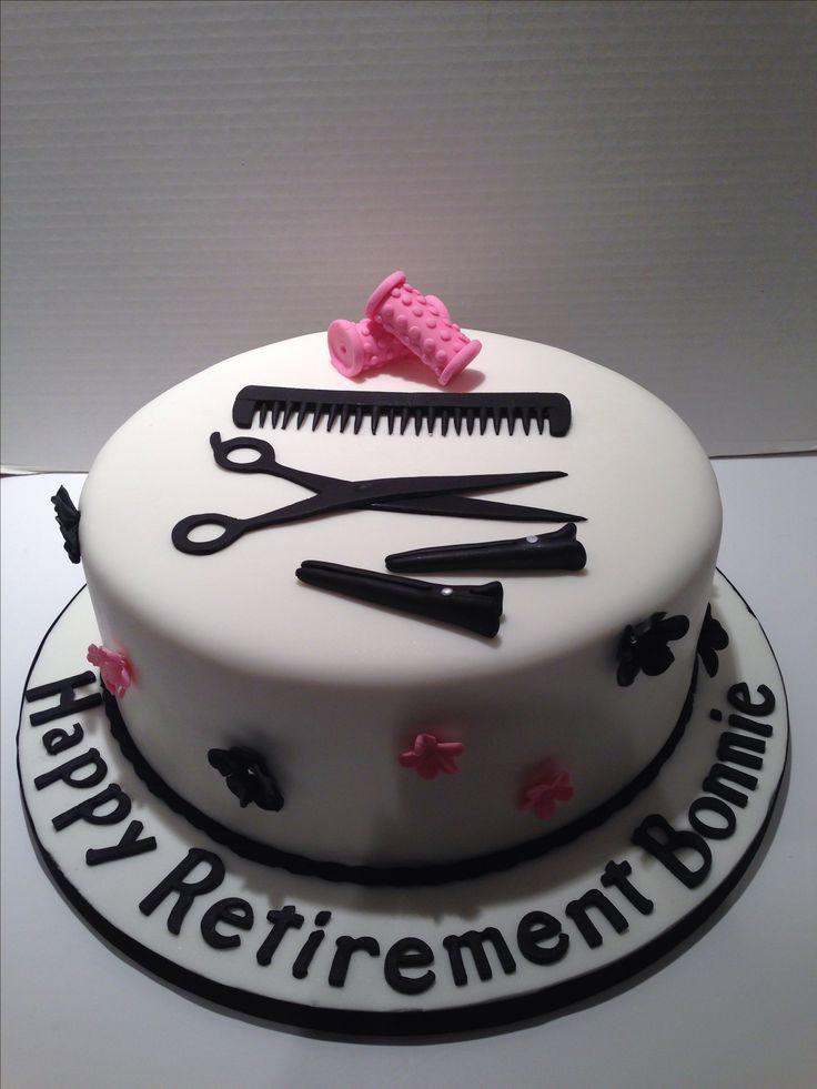 Hairdresser cake.                                                                                                                                                                                 More