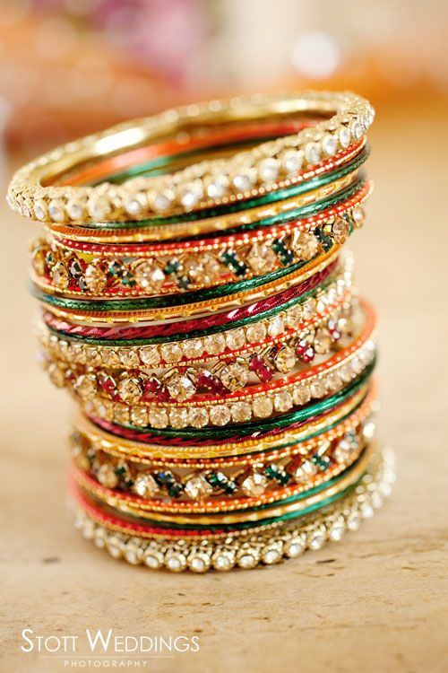 festive colors, indian bridal jewelry, bangles