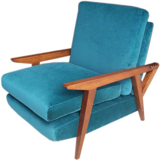 Modern Reclining Armchair by Charles Stoll  sc 1 st  Pinterest & 15 best The Quest for the Perfect Recliner images on Pinterest ... islam-shia.org