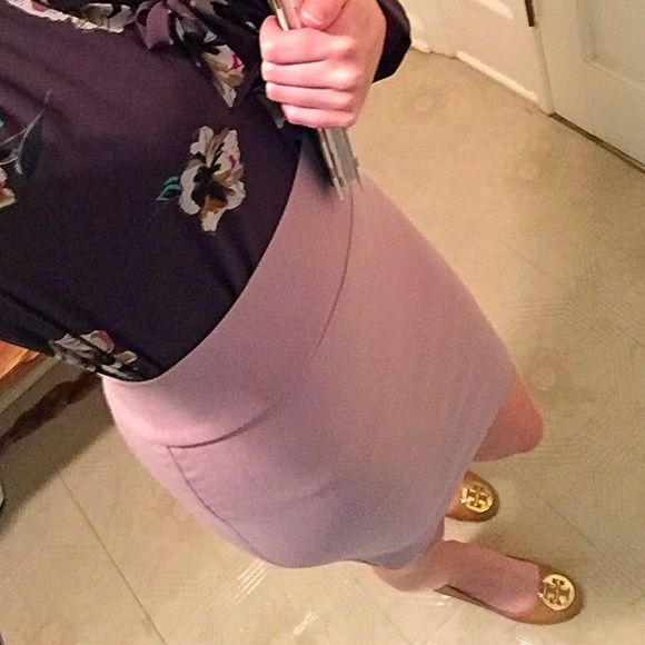 Easter Sale!  Blushing Beige pencil skirt Easter Sale!  Hurry ends 3/27!Blushing Beige pencil skirt is an elegant go to power piece for the work place or a stylish part of acing that interview!  Charlotte Russe Skirts Pencil
