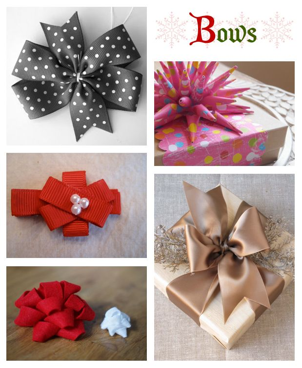 How to make bows ... for headbands and gifts.