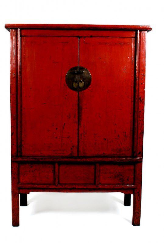 lacquered furniture. red lacquer chinese chest lacquered furniture