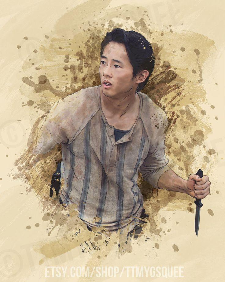 The Walking Dead Glenn Rhee
