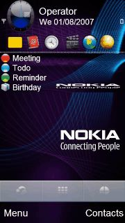 Free Purple Nokia theme by empyema on Tehkseven