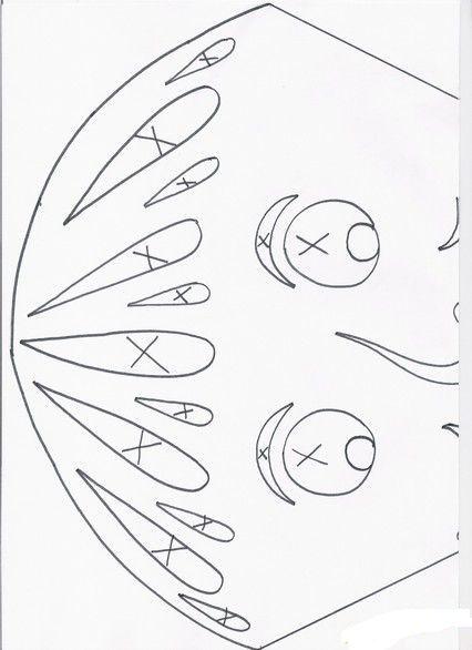 Sarkan a jesen pinterest autumn kirigami and patterns for Kirigami paper art