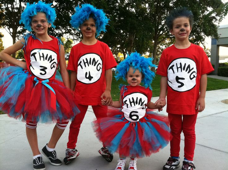 I think Casey and Krysta should dress all five of their children like this for Halloween this year and they should dress up as the Cat in the Hat and the fish!!