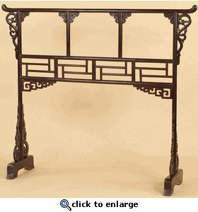Original Lacquered Chinese Clothes Rack