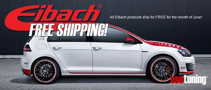 Eibach Suspension Free Shipping June 2016