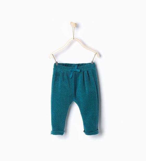 ZARA - KIDS - Trousers with pockets
