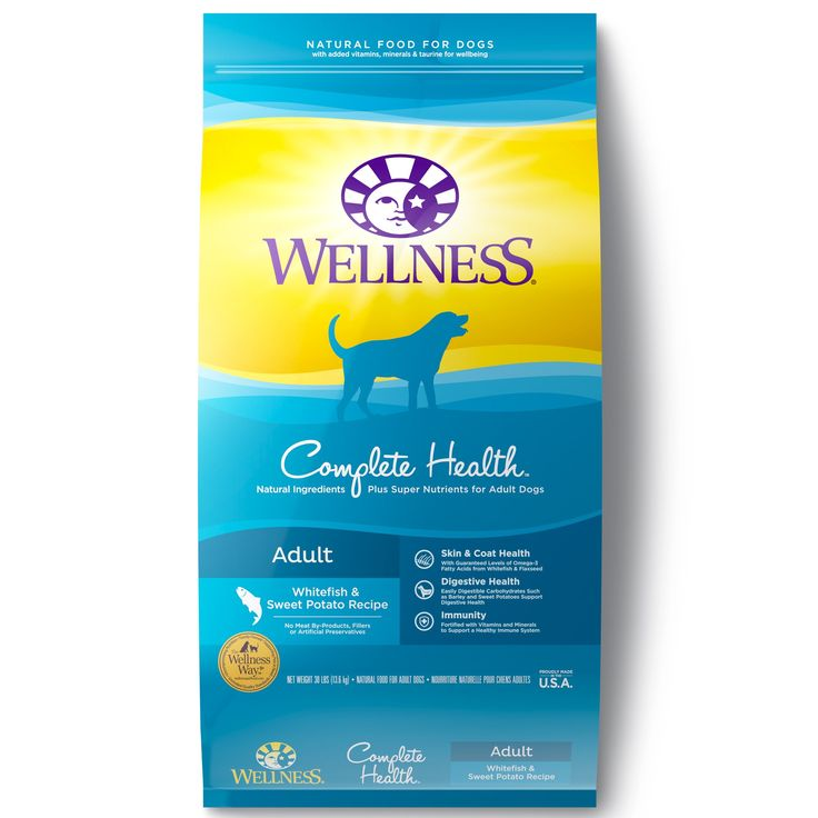 Wellness Complete Health Natural Whitefish Sweet Potato Recipe