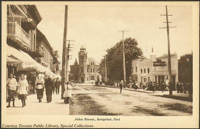 John Street, Arnprior, Ontario, Canada (1910)