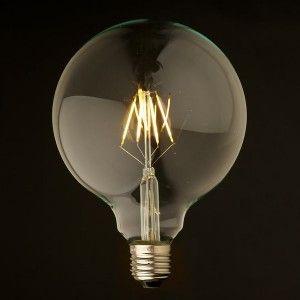 GLOBE LED - 6 W -  D125 - E 27
