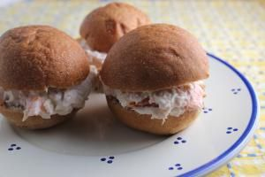 Best Cold Sandwich Recipes are Perfect for a Lunchbox or Quick Snack: Parmesan Tuna Sandwiches