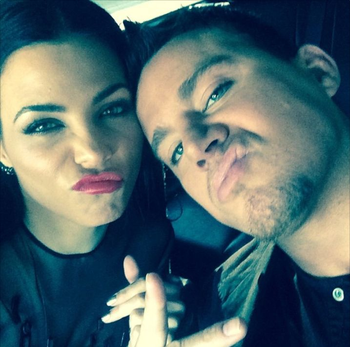 16 Times Channing and Jenna Dewan Tatum Defined Relationship Goals - They make matching silly faces  - from InStyle.com