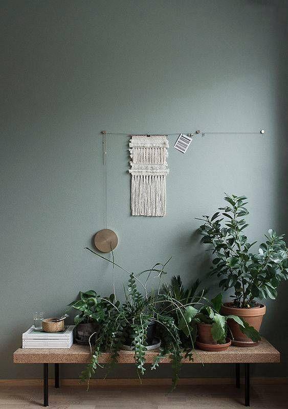 gray-green walls.                                                                                                                                                                                 More