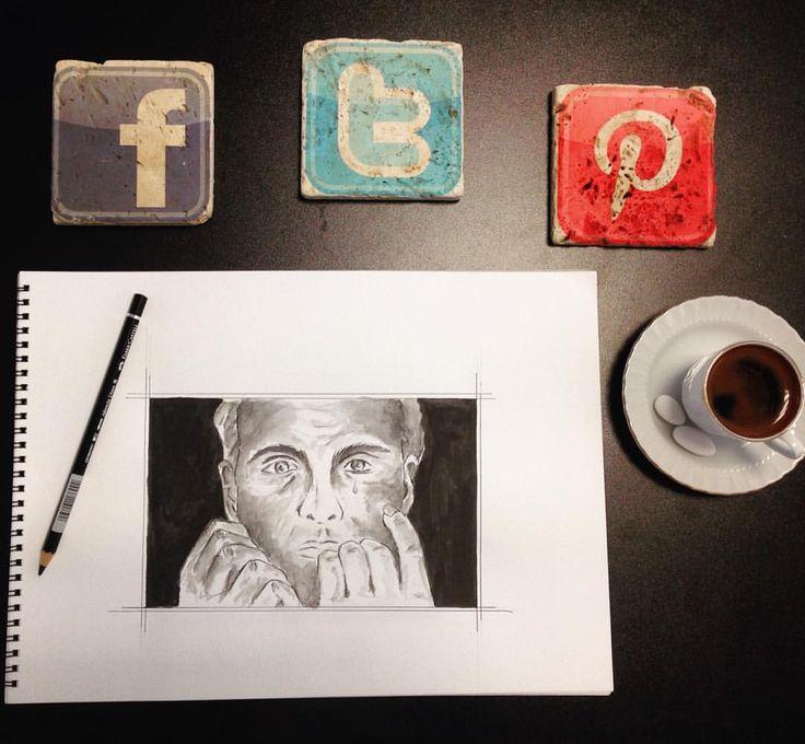 #drawing #art #illustration - art by Leyla