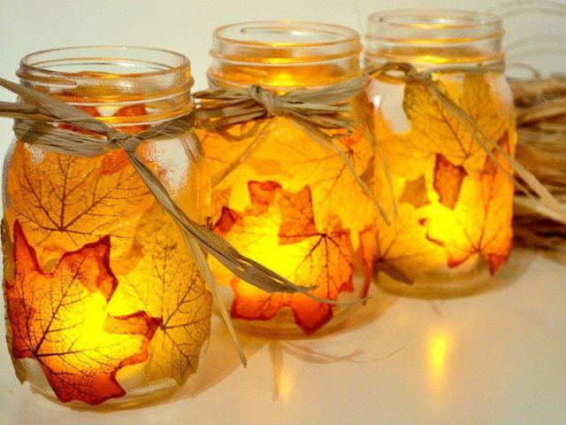 idéias de decoração DIY com folhas de outono! | Blog Garden Alsagarden - a revista para jardineiros curiosos
