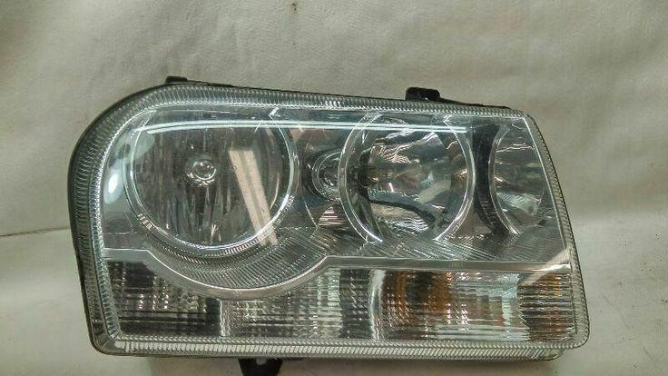 Passenger Right Headlight Touring Halogen Fits 05 07 Chrysler 300 F151 165039 Ebay Chrysler 300 Chrysler Touring