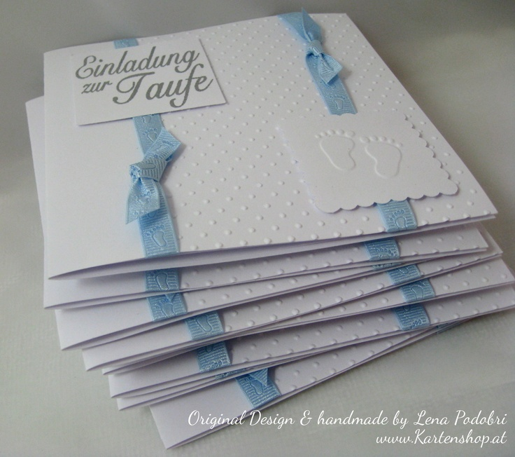 Einladung Taufe BOY