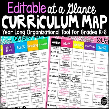 3591 best classroom management images on pinterest for Year at a glance template for teachers