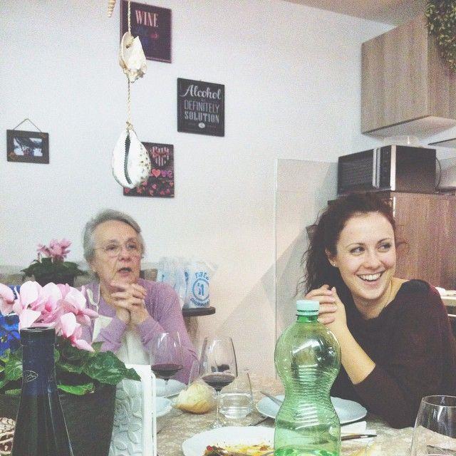 Le protagoniste indiscusse della serata: @enricalazzarini and her Nony - Instagram by igersbologna