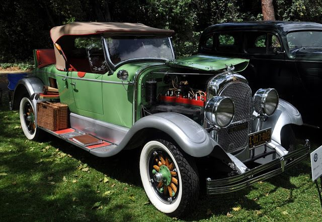 Just A Car Guy: 1928 Chrysler model 72, one with the cool serial number on the dash